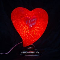 Lightning Heart Table Lamp